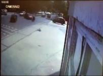 Kaza Güvenlik Kamerasını Böyle Yansıdı