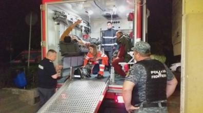 Türk balıkçı teknesine müdahale anı