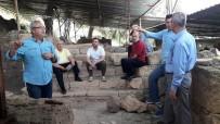 Meclis Üyeleri Antandros'ta İncelemelerde Bulundular