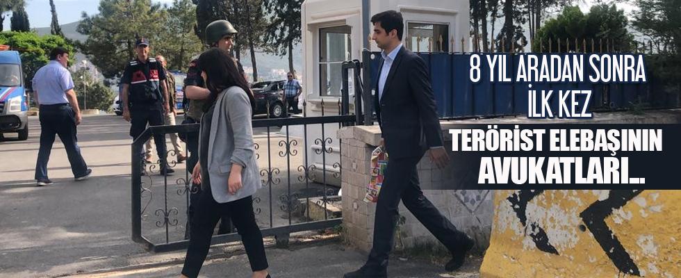 Terörist elebaşının avukatları 8 yıl sonra ilk kez...