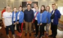 AB'li Öğrenciler Gençlik Projesi İçin Döşemealtı'nda