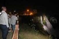 Antalya Düden Şelalesi'nde Polisi Alarma Geçiren Olay