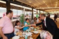 Başkan Söğüt, Şehit Ailelerini Ağırladı