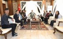 Bölge Şampiyonlarından Vali Akbıyık'a Ziyaret