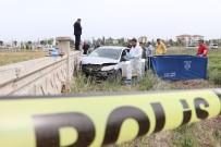 Boynuna İp Bağlı Genç Duvara Çarpmış Otomobilde Ölü Bulundu