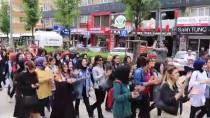 Çankırı'da Öğretmenin Darbedilmesi Protesto Edildi