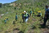 Genç Ormancılara Sahada Uygulamalı Eğitim Verildi
