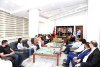 SOSYAL SORUMLULUK - Himyaçder Yönetiminden Başkan Gürkan'a Ziyaret