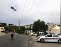 YAKIN TAKİP - Jandarma'dan Bodrum'da Helikopterli Trafik Denetimi