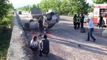 Kocaeli'de Otomobil Devrildi Açıklaması 1 Ölü, 1 Yaralı