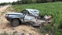 Konya'da Beton Mikseri İle Otomobil Çarpıştı Açıklaması 1 Ölü, 1 Yaralı