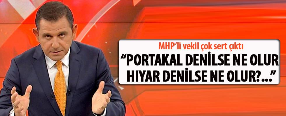 MHP'li Yücel Bulut'tan Fatih Portakal'a sert çıkış