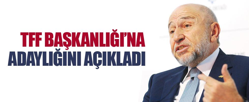 Nihat Özdemir, TFF Başkanlığı'na adaylığını açıkladı