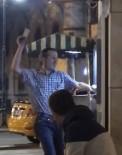 ATM'yi döven adam kamerada