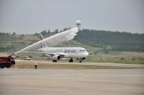 Qatar Airways'in İlk Uçağı İzmir'e İniş Yaptı