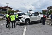 Sakarya'da Zincirleme Kaza Açıklaması 6 Yaralı