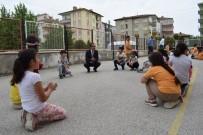 Sınıflarını Dışarıya Çıkaran Öğrenciler Dışarıda Eğitim Gördü