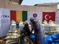 GÖRME ENGELLİ - TİKA'dan Gine'de Engelli Ve Yetim 500 Aileye Gıda Yardımı