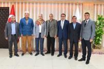 MUSTAFA ÜNAL - Yörük Türkmen Derneklerinden Başkan Başdeğirmen'e Destek Ziyareti