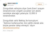 Zonguldak'a Oyun Parkı Yaptıran Cenk Eren'e Dolandırıcı Şoku