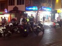 Alanya'da Polis, Yayaları Tehlikeye Atan Motosikletlilere Ceza Kesti