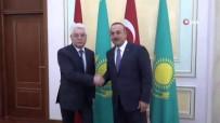 Çavuşoğlu, Kazakistanlı Mevkidaşı Atamkulov İle Görüştü
