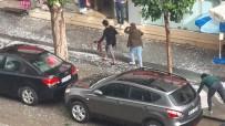 Çorum'daki Şiddetli Dolu Yağışı Hayatı Olumsuz Etkiledi