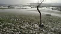 Dolu Ve Sağanak Yağış Sele Neden Oldu