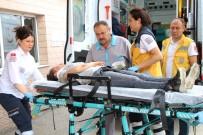 ELEKTRİKLİ BİSİKLET - Elektrikli Bisiklet Devrildi, 13 Yaşındaki Sürücü Yaralandı