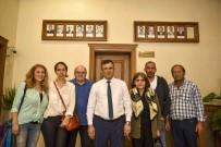 Eski Başkanın Torunları, Başkan Çatal'ı Ziyaret Etti