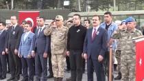 Hakkari'de Şehit Asker İçin Tören
