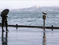 TARİHİ YARIMADA - İstanbul'da beklenen sağanak etkili oluyor