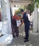 Jandarmadan İhtiyaç Sahibi Ailelere Gıda Desteği