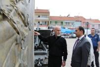 Kurtuluş Savaşı'nın Simgesi Heykellere Bakım Ve Temizlik Çalışması