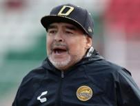 TAZMİNAT DAVASI - Maradona tutuklandı!
