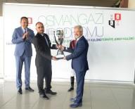 KUPA TÖRENİ - Nilüfer Belediye Başkanlığı Koşusu Çelikkalkan'ın