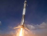 Spacex İnternet Uydularını Uzaya Fırlattı