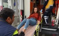 Ticari Araç, Genç Kıza Çarpıp Kaçtı