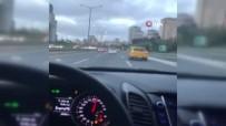 SOSYAL MEDYA - Trafikte Sürücülerin Makas Atma Yarışı Kamerada