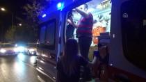 Adıyaman'da Trafik Kazası Açıklaması 1 Yaralı
