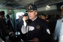 Akar, Beraberinde Komutanlarla Denizkurdu 2019 Tatbikatı'nın Seçkin Gözlemci Günü'ne Katıldı