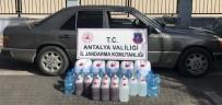 Antalya'da Sahte İçki Operasyonu Açıklaması 2 Gözaltı