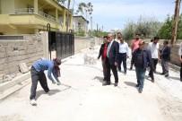 SEYRANTEPE - Başkan Akman, Çalışmaları Yerinde İnceledi