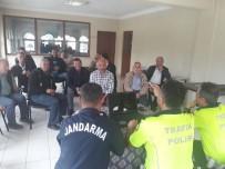 UZMAN JANDARMA - Bigadiç'te Şoförlere Brifing