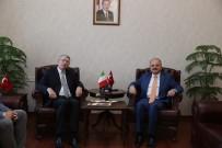 ESKİŞEHİR VALİSİ - Büyükelçi Gaiani Eskişehir'de