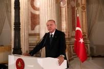 Cumhurbaşkanı Erdoğan, Sanatçı Ve Sporcularla İftarda Bir Araya Geldi