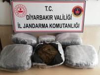 Diyarbakır'da 47 Kilo 100 Gram Esrar Ele Geçirildi