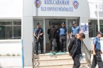 Kızılcahamam'da Demir Hırsızları Kıskıvrak Yakalandı