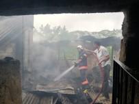 Mersin'de Çiftlik Evinde Çıkan Yangın Korkuttu