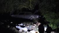 Otomobil Uçuruma Yuvarlandı Açıklaması 1 Ölü 1 Yaralı